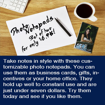 Photo Notepads Update 2016