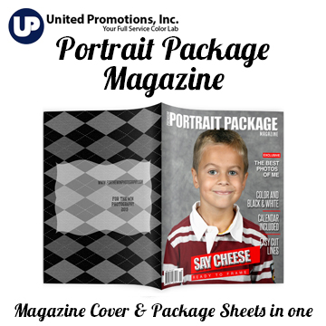 Portrait Package Magazine